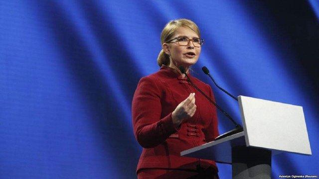 Тимошенко прийшла на теледебати і пішла з них через кілька хвилин