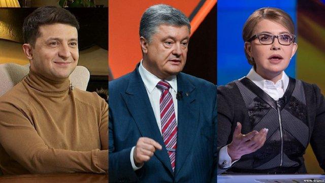 За Порошенка, Зеленського і Тимошенко продовжують приховано агітувати в «день тиші», — активісти