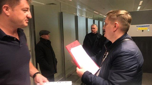 В аеропорту«Бориспіль» голові Держрезерву вручили обвинувальний акт