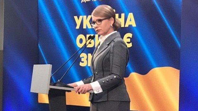 Юлія Тимошенко відмовилася визнавати дані «Національного екзит-полу»