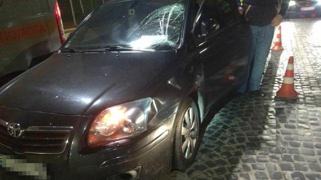 За один вечір у Львові внаслідок ДТП травмувалися троє неповнолітніх пішоходів