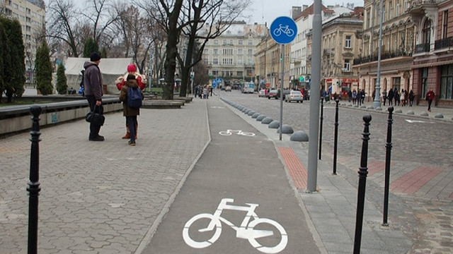 Львівська мерія опублікувала повну онлайн-карту велоінфраструктури міста