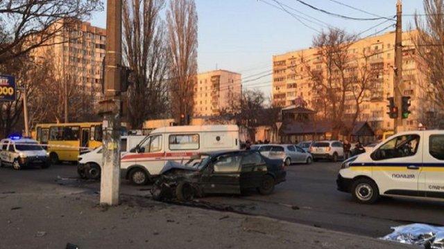 Суд арештував без права застави водія, який збив трьох нацгвардійців в Одесі