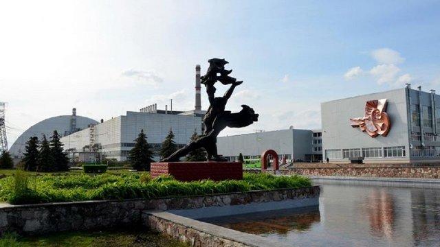 На стіні Чорнобильської АЕС намалюють мурал