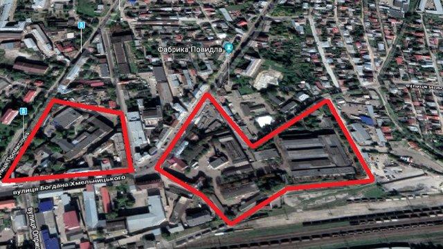 На місці колишнього львівського заводу на Підзамчі збудують житлово-офісний квартал