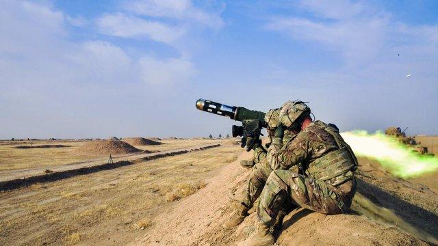 Грузія отримала протитанкові ракетні комплекси Javelin