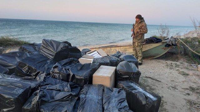Прикордонники ліквідували схему контрабанди сигарет з ОРДЛО в Україну через море