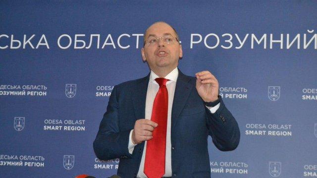 Голова Одеської ОДА відмовився залишити посаду після указу Порошенка