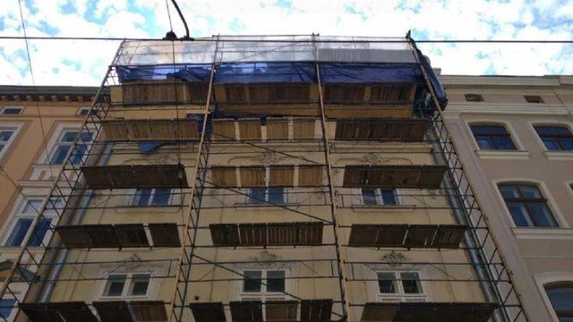 Будинком на площі Ринок, де обвалився фрагмент фасаду, володіє Львівська облрада