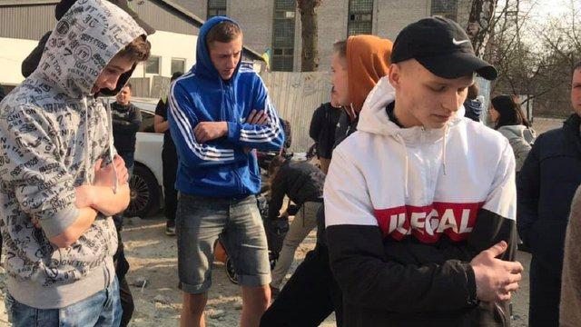 Львівський забудовник заплатив школярам, щоб вони розігнали акцію протесту