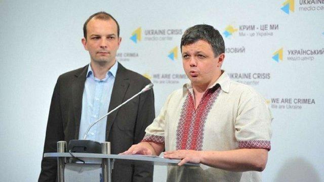 Єгор Соболєв та Семен Семенченко вийшли з «Самопомочі»