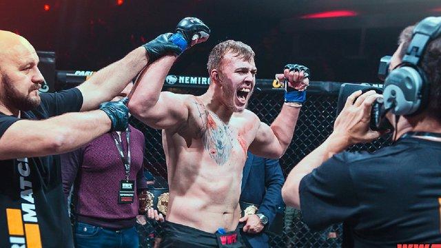 Український боєць змішаних єдиноборств підписав контракт із UFC