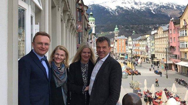 Садовий обговорив з мером Інсбрука переваги проведення у місті Зимової Олімпіади