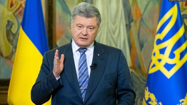 Порошенко заявив, що не знав про корупційні схеми свого оточення