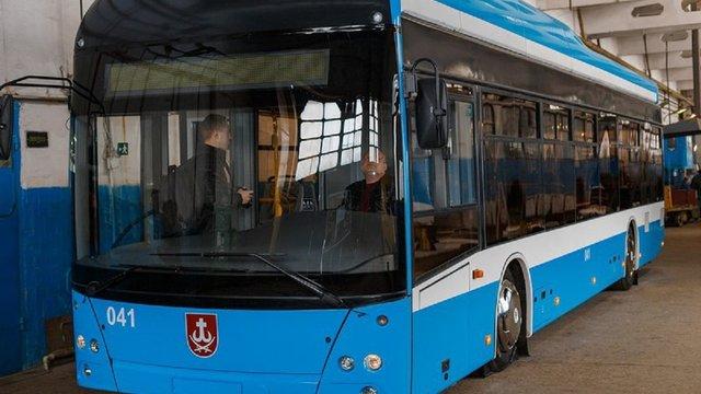 У Вінниці створили власний тролейбус
