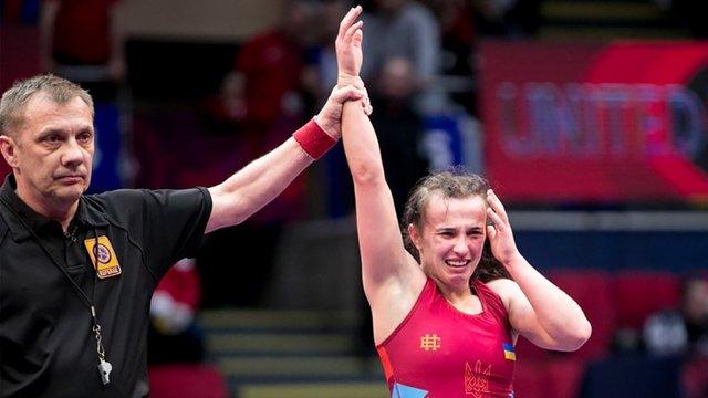 Львів'янка Оксана Лівач виграла золото чемпіонату Європи з боротьби