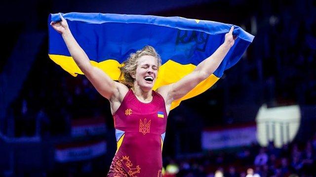Алла Черкасова зі Львова стала чемпіонкою Європи з боротьби