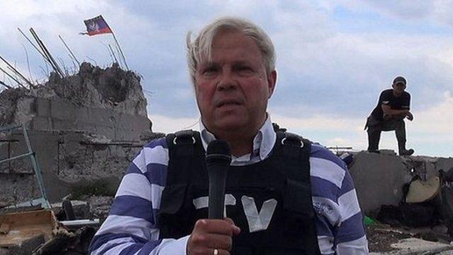 СБУ скасувала заборону на в'їзд австрійському журналісту, який схвалював окупацію Криму
