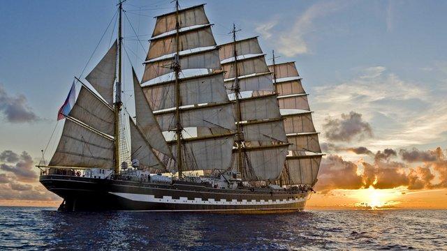 Російське судно не пустили до Естонії через курсантів з Криму на його борту
