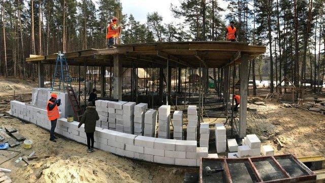 У Яворівському парку будують еколого-освітній візит-центр