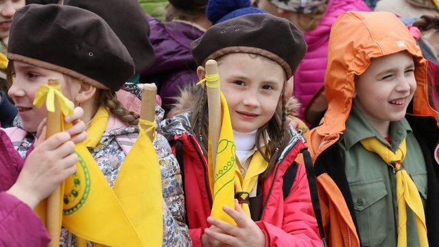У Львові понад дві тисячі скаутів відзначили річницю створення Пласту