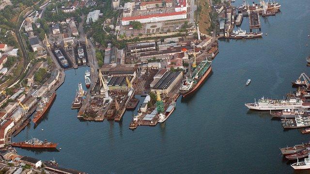 В окупованому Криму на екс-заводі Порошенка ремонтуватимуть російські кораблі