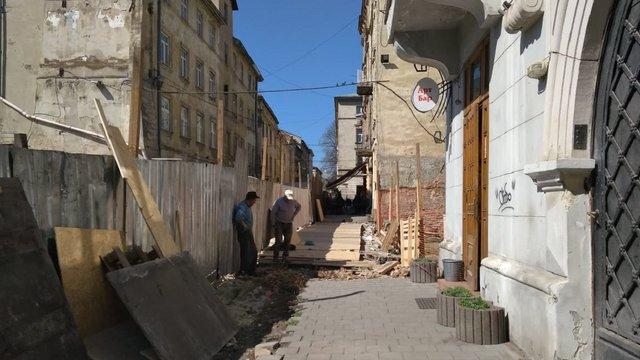 Закриту дев'ять років тому вулицю у центрі Львова відкрили для туристів і містян