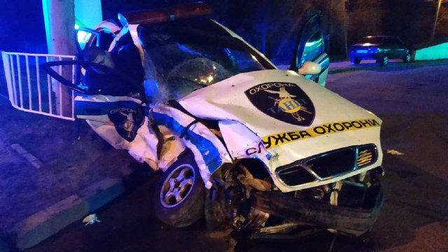 У ДТП з автомобілем охоронної фірми у Львові загинула людина, двоє травмувалися