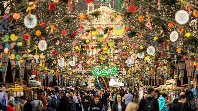 Великодній ярмарок у Львові стартує з 26 квітня