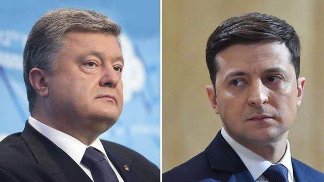 ЦВК дозволила відтермінувати на одну годину офіційні дебати між Порошенком і Зеленським