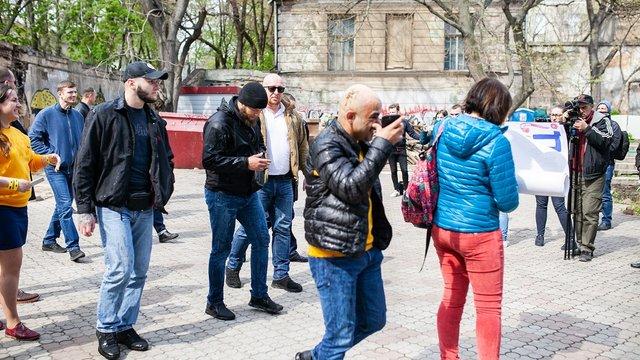 Народного депутата Мустафу Найєма в Одесі облили фекаліями
