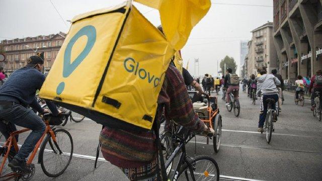 У Львові з 22 квітня розпочне роботу сервіс доставки Glovo
