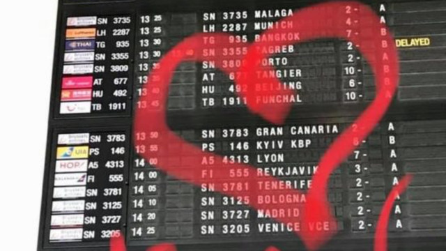 Аеропорти Бельгії змінили написання Kiev на Kyiv
