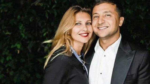 Дружину Володимира Зеленського внесли в базу «Миротворця»