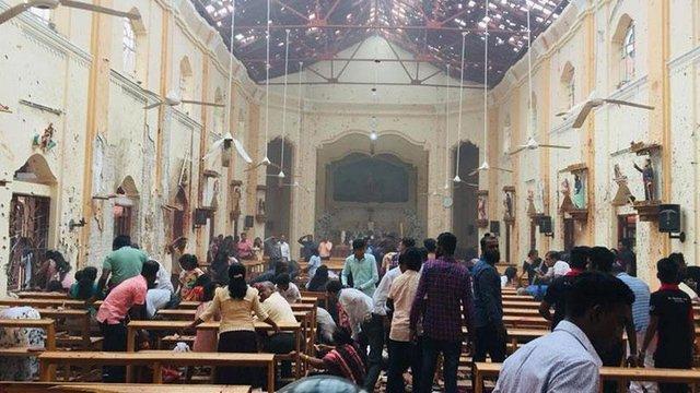 Кількість загиблих від вибухів у церквах та готелях Шрі-Ланки зросла до 207