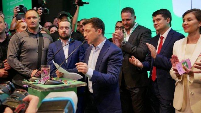 Зеленський записав відеозвернення після оприлюднення результатів екзит-полів