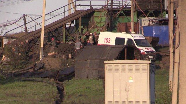 Із шахти на окупованій Луганщині дістали тіла шести гірників