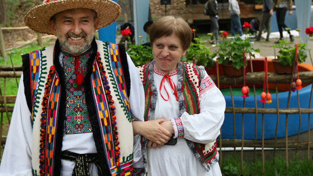 У Шевченківському гаю відбулись традиційні фестини «Великдень разом»