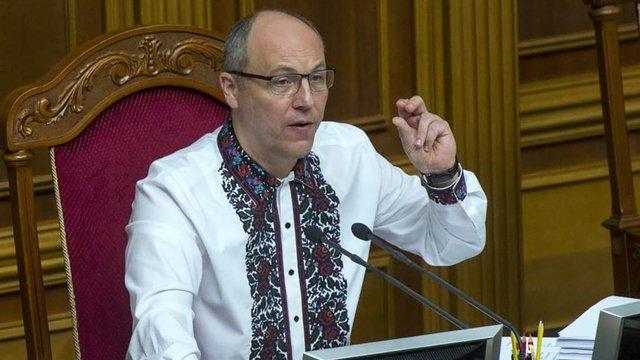 Спікер ВРУ Андрій Парубій повідомив, коли підпише закон про українську мову