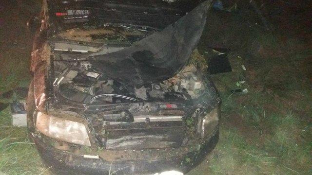 На Яворівщині 20-річний водій на швидкості вилетів з траси і загинув