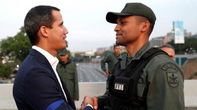 Лідер опозиції Венесуели оголосив повстання проти Ніколаса Мадуро