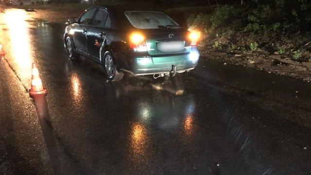 У Новояворівську автомобіль збив на смерть 32-річного пішохода