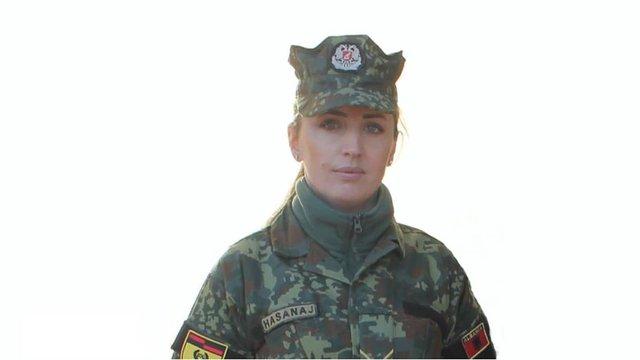 Молода офіцерка албанської армії загинула від вибуху на базі НАТО в Латвії
