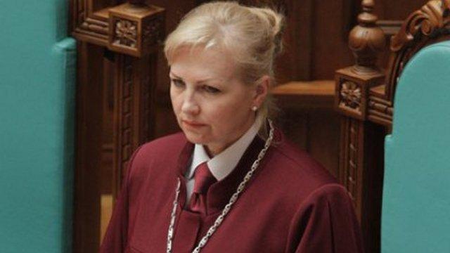 Новим главою Конституційного Суду стала Наталя Шаптала