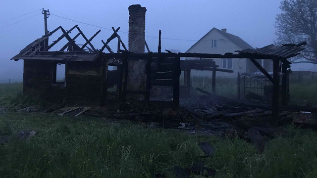 У дерев'яному будинку на Яворівщині згорів його власник