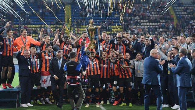 «Шахтар» розгромив «Інгулець» та виграв Кубок України з футболу