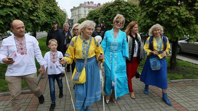 Львів'яни відзначили День вишиванки святковою ходою та концертом