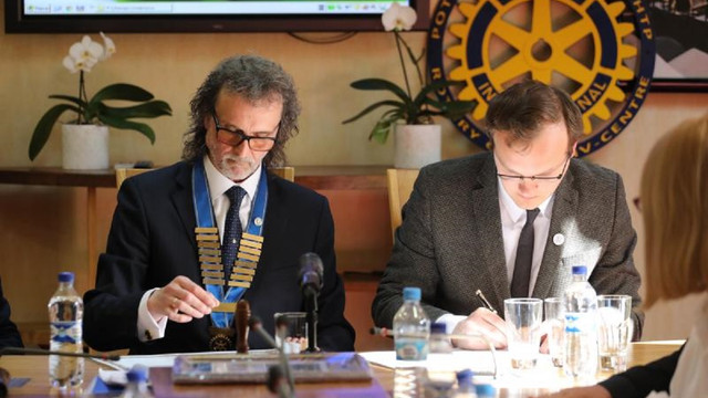 Мерія підписала меморандум про співпрацю з президентами львівських Ротарі клубів