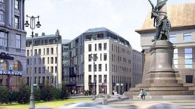 Мерія погодила  будівництво двох готелів у центрі Львова