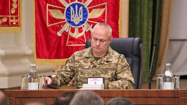 Новий командувач Генштабу розповів про своє бачення розвитку Збройних сил